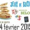 SAMEDI 14 FEVRIER 2015 : JEUX DE SOCIETE