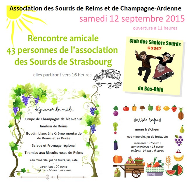 Reims rencontres amicales