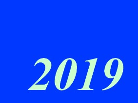 une calendrier 2019