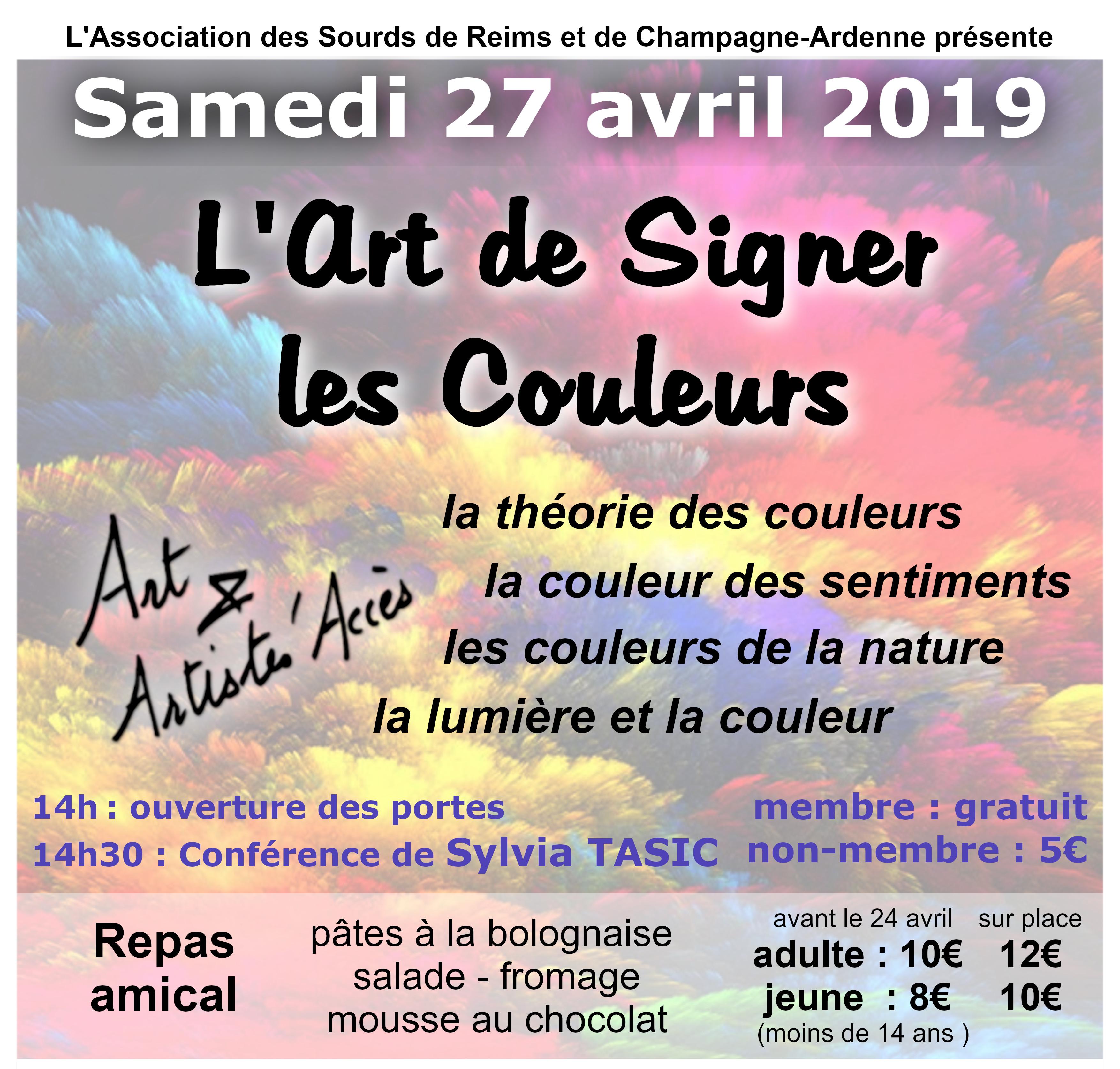 L'Art de signer les couleurs